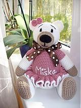 Hračky - Medvedica ružová - 3125343