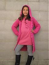 Detské oblečenie - Háčkovaný sveter s kapucňou - 3127927