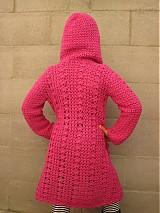 Detské oblečenie - Háčkovaný sveter s kapucňou - 3127935