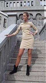 Šaty - Elegantné šaty nazbierané v páse- rôzne farby - 3130988