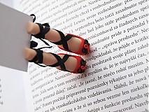 Papiernictvo - Záložka kniho-nôžka - 3131844