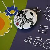 - LL Button Zebroid - 313580
