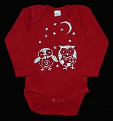 Detské oblečenie - Body - sovičky - 3138776