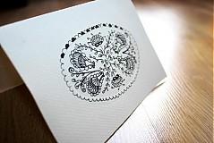 Kresby - pohľadnica folková - 3139612