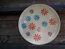 Nádoby - Tanier Kvety   28cm - 3144210