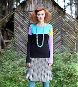Sukne - sukně kostičkovaná MAJDA - áčková - 3144627