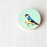 - Brož s ptáčkem - 3148542