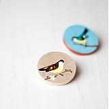 - Brož s ptáčkem - 3148553
