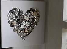 Dekorácie - 1)...all you need is LOVE... - 3149707