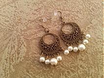 Náušnice - Náušnice perličkové. - 3152763