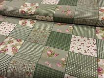 - Zelený patchwork - 3163335