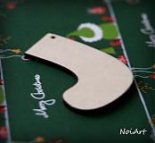 Dekorácie - Vianočná ozdoba čižma - 3164368