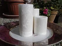 Svietidlá a sviečky - sada palmových sviečok - 3165773