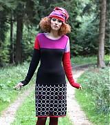 Sukne - kolečkov-srdíčková sukně LUBICA - úzká - 3166381