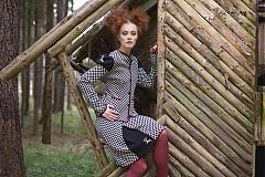 Sukne - kostičkovaná sukně NASŤA s jelínkem - 3166382