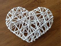 Drobnosti - Papierové pletenie -srdce - 3167679