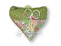 Drobnosti - Ihelníček Srdiečko, zelené - 3170801