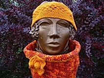 Šály - Orange sunset 3v1 - 3171063