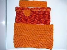 Šály - Orange sunset 3v1 - 3171064