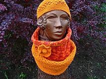 Šály - Orange sunset 3v1 - 3171066