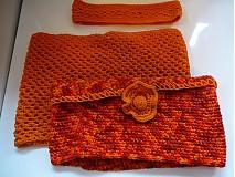 Šály - Orange sunset 3v1 - 3171067
