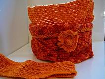 Šály - Orange sunset 3v1 - 3171080