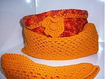 Šály - Orange sunset 3v1 - 3171085