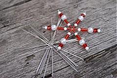 Dekorácie - Kostra na vianočnú hviezdičku - malá - 3175149