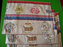 Úžitkový textil - Prestieranie čajníky... - 3175677
