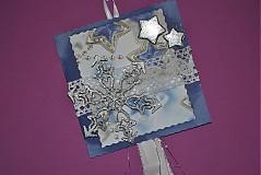 - Závesná dekorácia s levanduľovou vôňou - 3175891