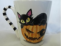 - hrnček - Halloween Kitty (White) - 3178297
