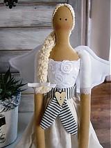 Bábiky - Bielosivá - 3181942