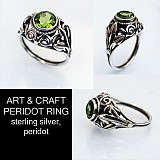 Prstene - Art & Craft  Peridot Ring  - 3191501