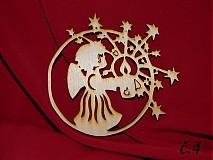 Dekorácie - Vianočne ozdoby z preglejky 4 - 3197962