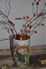 - Plechovka - váza  - 3201060