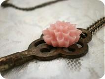 Náhrdelníky - Rose garden - 320617