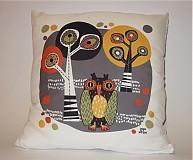 Úžitkový textil - sova - 3206586