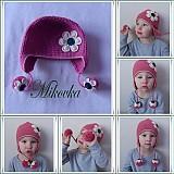 Detské čiapky - ciapocka kvetinka - 3209845