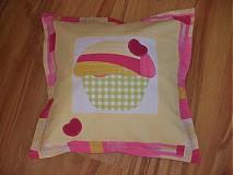 Úžitkový textil - sladká mafinková obliečka........ - 3214989