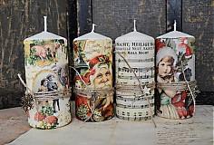 - Vianočný quartet sviečok - 3217914