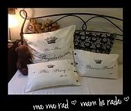 Úžitkový textil - Svadba...ako sa patri...a jej vankúšikové snívanie - 3219472