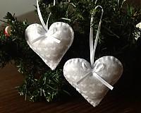 Vianoce - Srdcia.. Grey - 3227108