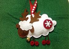 Dekorácie - Vianočná ovečka - 3227131