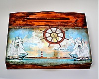 Krabičky - Morský vánok-sekretárik - 3227985