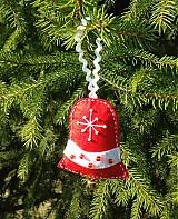 Dekorácie - Vianočný zvonček (Red) - 3234606