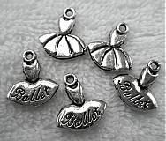 - KPrív-Ballet 12x15mm-plat-1ks - 3236189