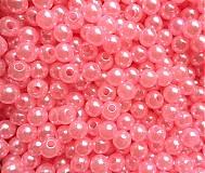 - GLANCE plast 4mm-ružová-120ks - 3237342