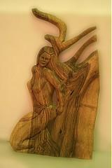 Obrazy - Žena pri strome  - 3240200