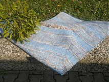 Úžitkový textil - Koberec svetlo modrý 150x75cm - 3245202