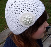 háčkovaná čiapka